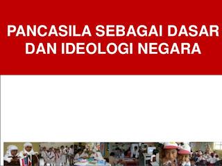 Contoh Pancasila Sebagai Ideologi Dalam Bidang Politik, Ekonomi, Hukum, Kebudayaan, Pertahanan dan Keamanan
