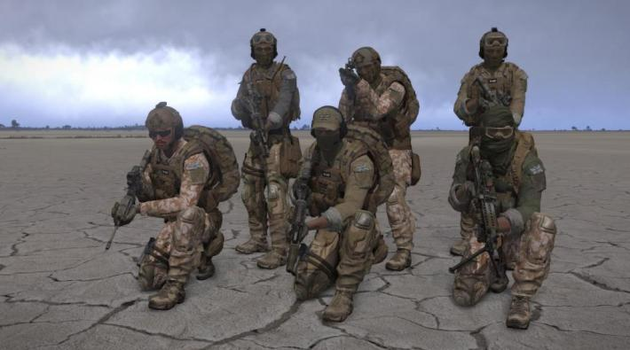 Pasukan Khusus Inggris dan Italia Diserang di Libya