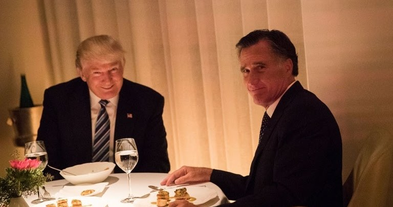 Friendless Hack & Sellout, Romney Moves To Take Trump Out, Shows His True Colors In The Process