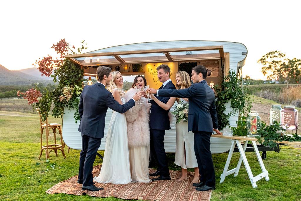 STYLED: CLASSIC SUNSET WEDDING CELEBRATIONS | STYLED INSPIRATION BROKE NSW