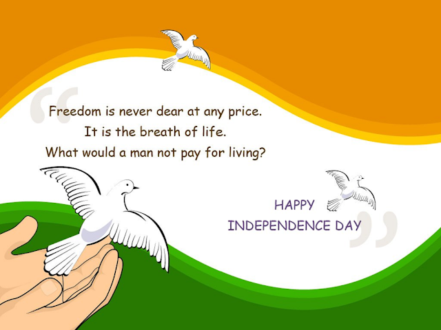 Independence Day wishes for facebook