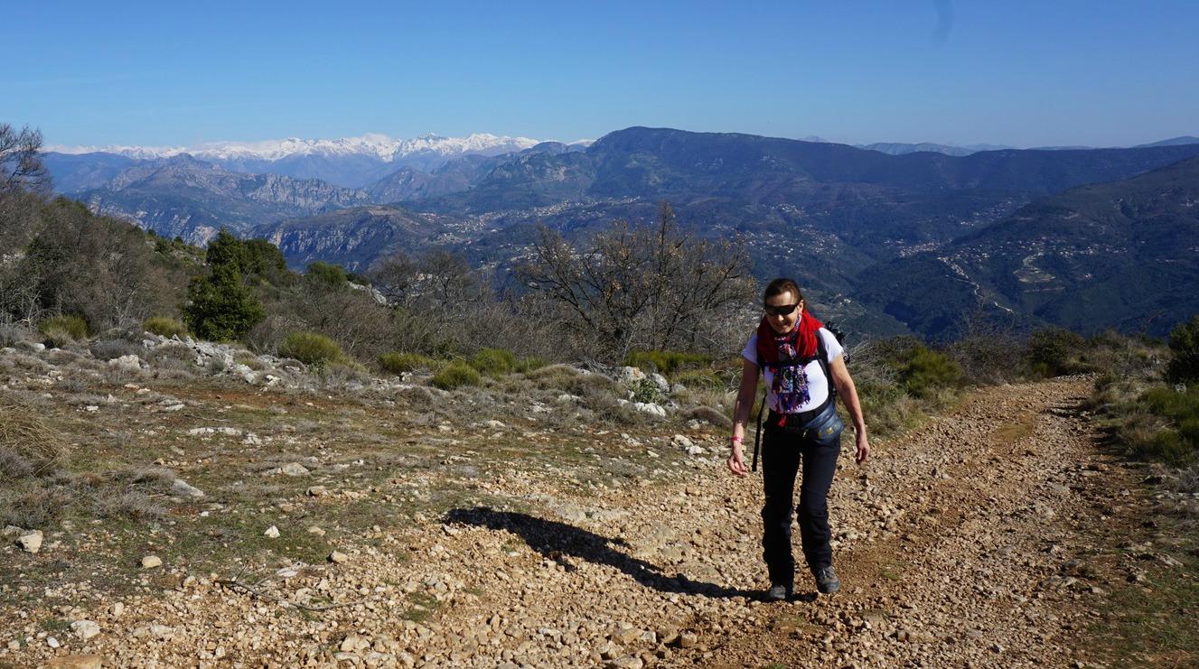 Trail to Sommet du Broc
