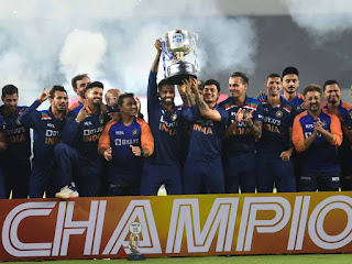 England tour of India 5-Match T20I Series 2021