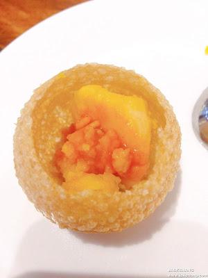 芒果酸子酥球Pani puri