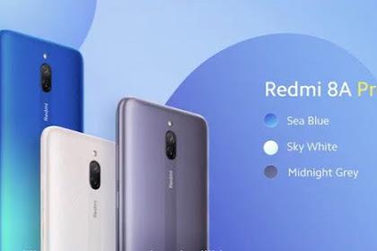 Xiaomi Luncurkan Redmi 8A Pro Dengan Kapasitas Baterai 5000 mAh