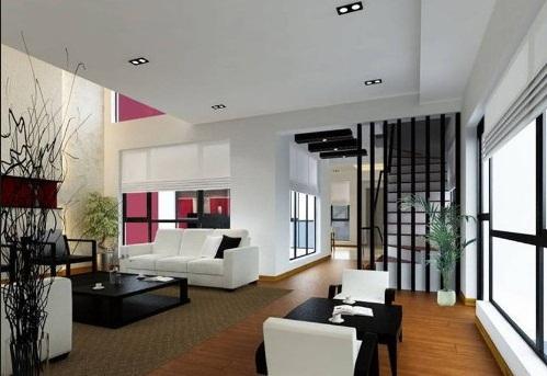 Model Desain Ruang Tamu Rumah Minimalis Terbaru  Model Desain Ruang Tamu Rumah Minimalis Terbaru 2 Lantai
