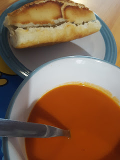 Soup and a Roll
