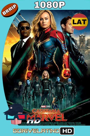 Capitana Marvel (2019) BRRip 1080p Latino-Ingles MKV