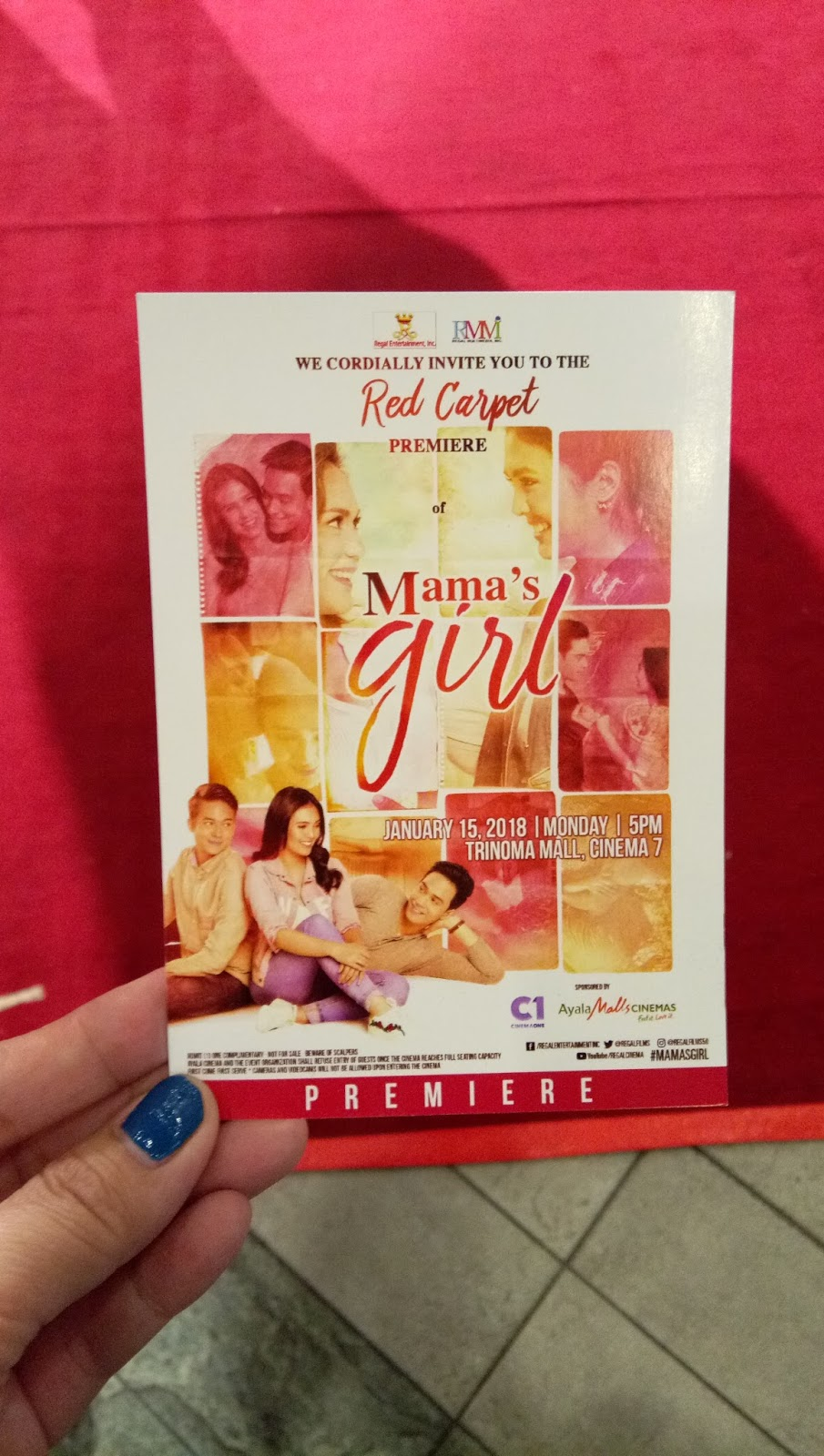 Movie review mamas girl mommys mag life who wouldnt love our dearly mother mommy or mama im sure we do and well always love them so much even me now that i am also a mom i really feel stopboris Gallery