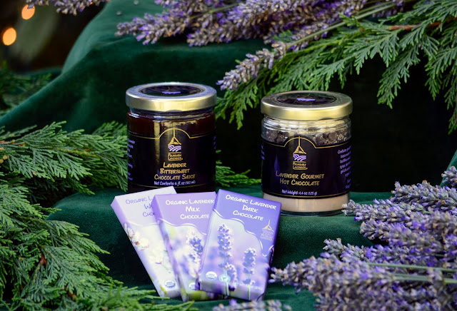 Lavender chocolate gifts for all the loved ones on your list