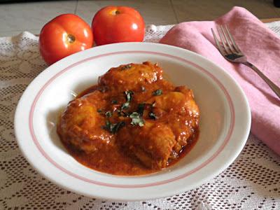 Ayam Masak Merah Berempah Recipe @ treatntrick.blogspot.com