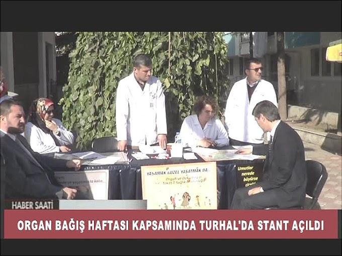 Organ Bağış Haftası etkinlikleri kapsamında İlçe Sağlık Müdürlüğü tarafından stant açıldı.