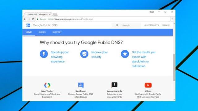 Daftar DNS Tercepat dan Gratis 2020