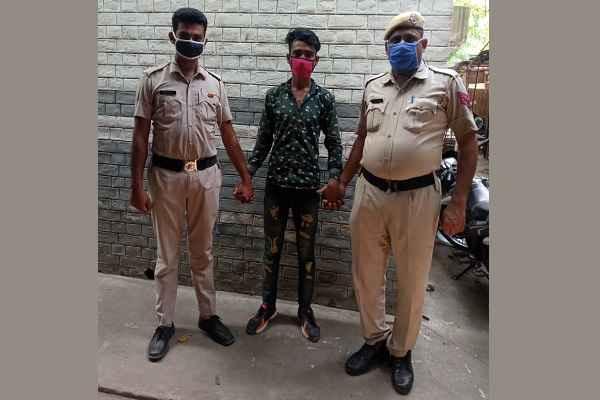faridabad-minor-girl-kidnapping-accused-talib-arrested