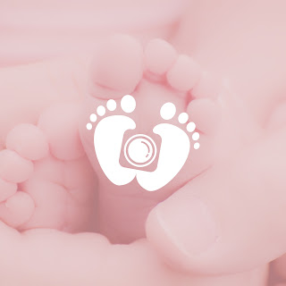 Desain Logo Jejak Kaki Baby n Kids Photography