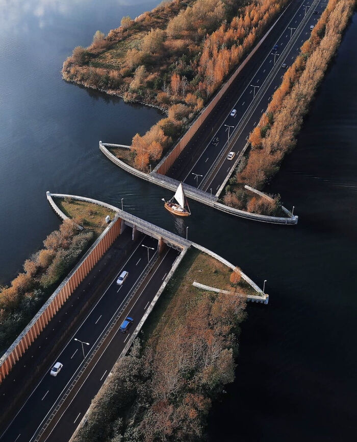 Aqueduct in the Netherlands