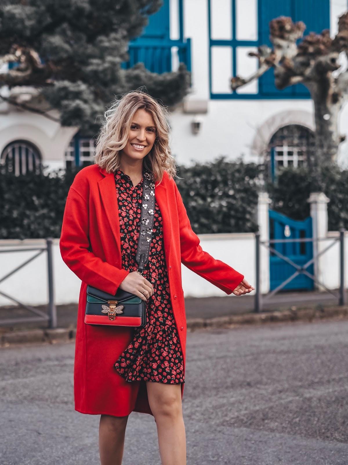 como llevar vestido rojo