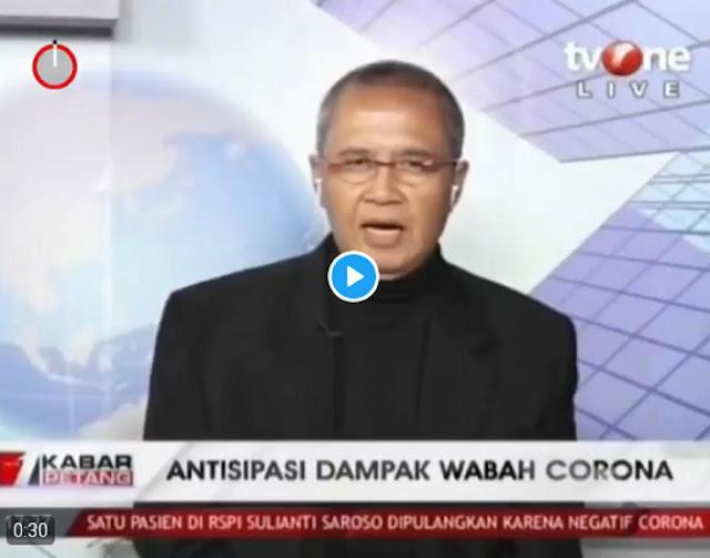 Chairul Anwar Nidom: Pemerintah Tak Lakukan Upaya Apapun Untuk Mengurangi Infeksi Corona
