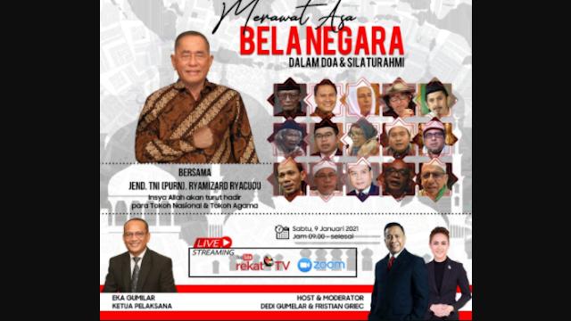 Jendral TNI PURN. Ryamizard Kumpulkan Ulama dan Tokoh Bangsa, Gelar Silaturrahmi demi Indonesia Sejuk dan Damai
