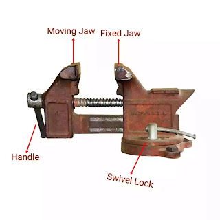 bench vice parts and function