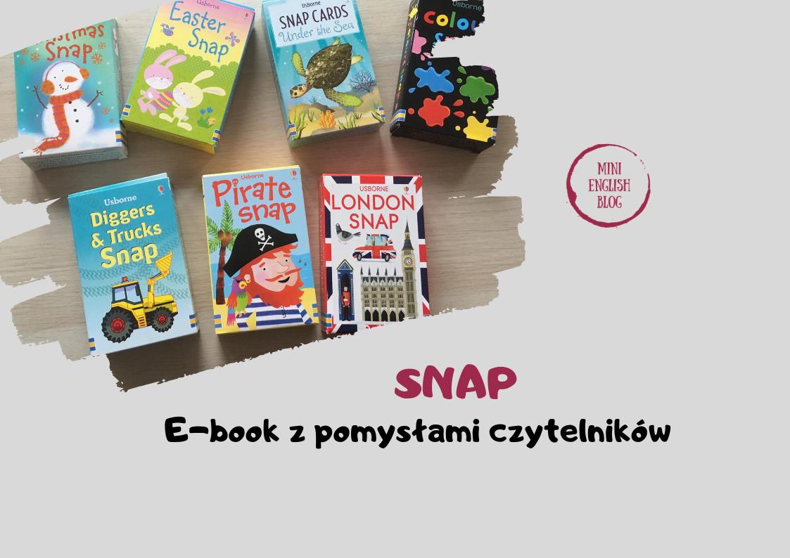 SNAP e-book z pomysłami czytelników