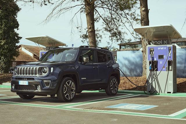 Jeep Renegade 4xe Plug-in Hybrid chega ao Brasil em 2021