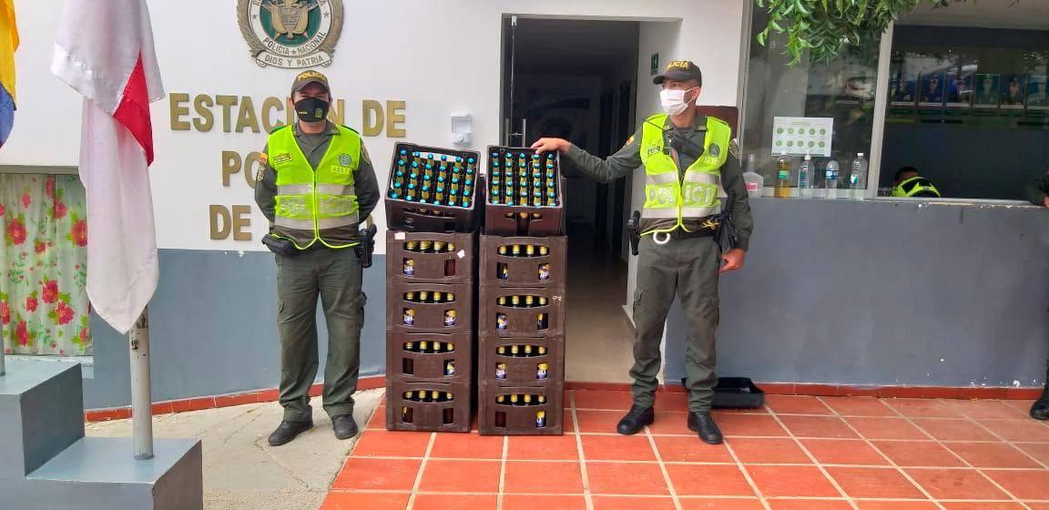Policía del Atlántico frustra fiesta clandestina en Piojó