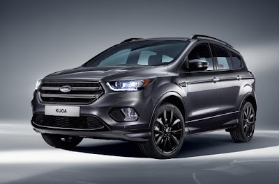 2017 Ford Kuga facelift front  view image