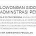 Lowongan Kerja Staf Administrasi Penjualan -  Loker SMA/SMK