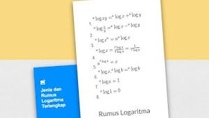 Pengertian Logaritma, Sifat, Rumus dan Contoh Soal Logaritma Terlengkap