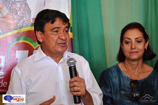 Governador Welington Dias declara apoio à candidatura de Maria José e Dr. Laércio em Fronteiras.