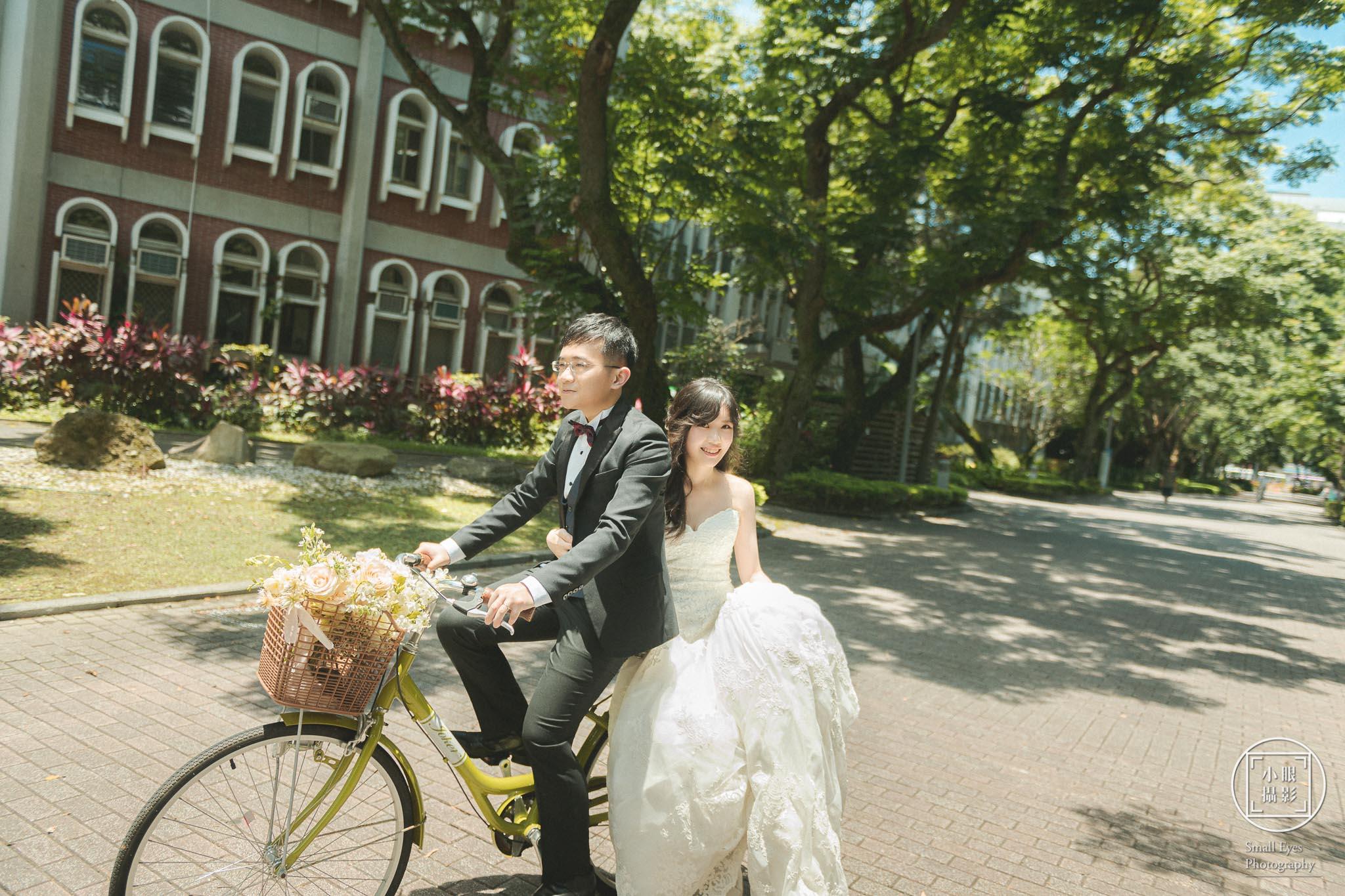 人像, 小眼攝影, 自主, 自主婚紗, 自助,  國內婚紗, 婚紗, 婚紗攝影, 婚攝, 寫真, 徐徐兒,徐小恩,國樂,柳琴,梆笛,台大,腳踏車