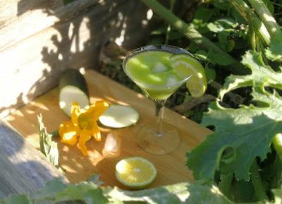 Erfrischender Zucchini-Zitrus-Saft