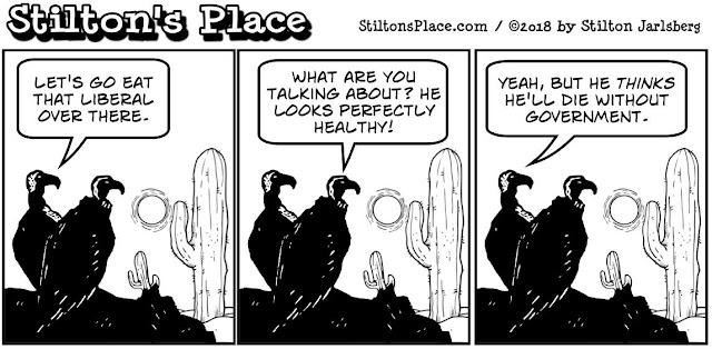 stilton's place, stilton, political, humor, conservative, cartoons, jokes, hope n' change, government shutdown, buzzards, vultures