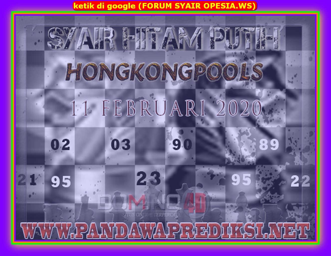 Kode syair Hongkong Selasa 11 Februari 2020 179