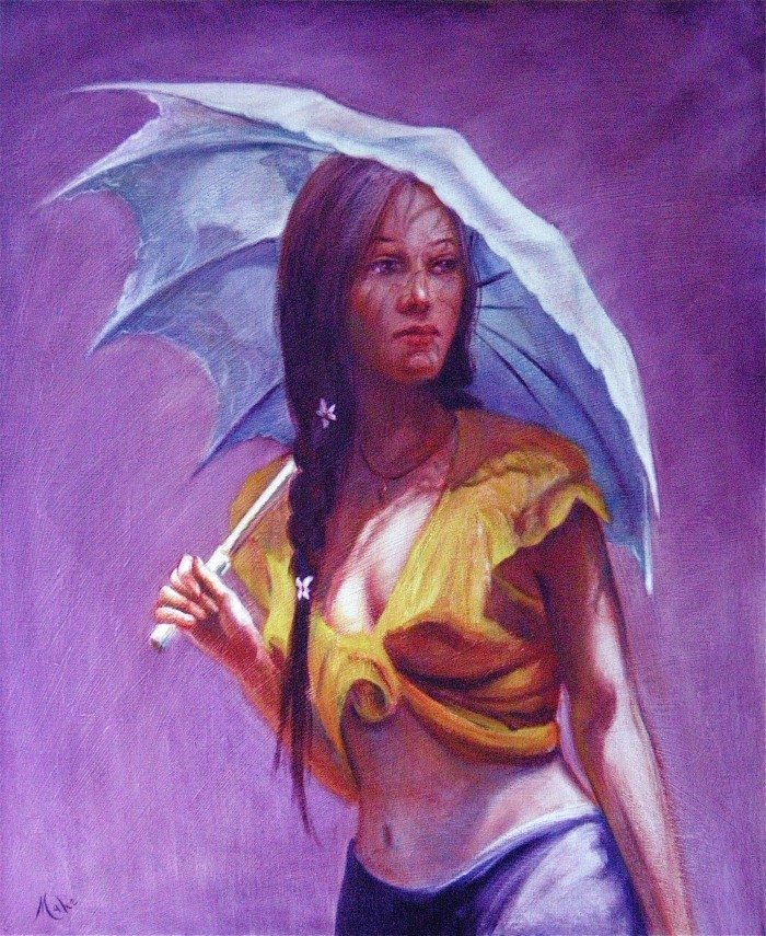 Французский художник. Isabel Mahe