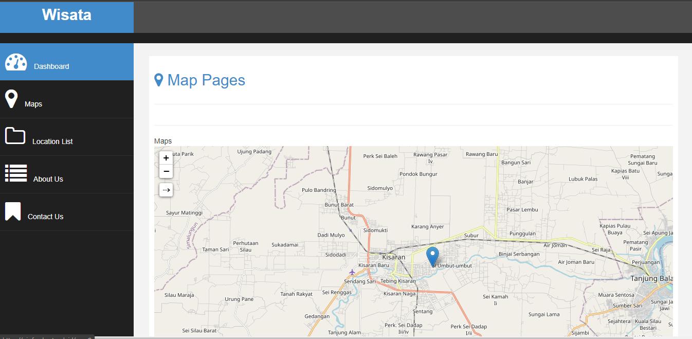 Aplikasi GIS Menggunakan Leaflet js Berbasis Web
