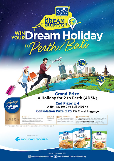 win your dream holiday, percutian ke perth atau bali dengan pacific west,