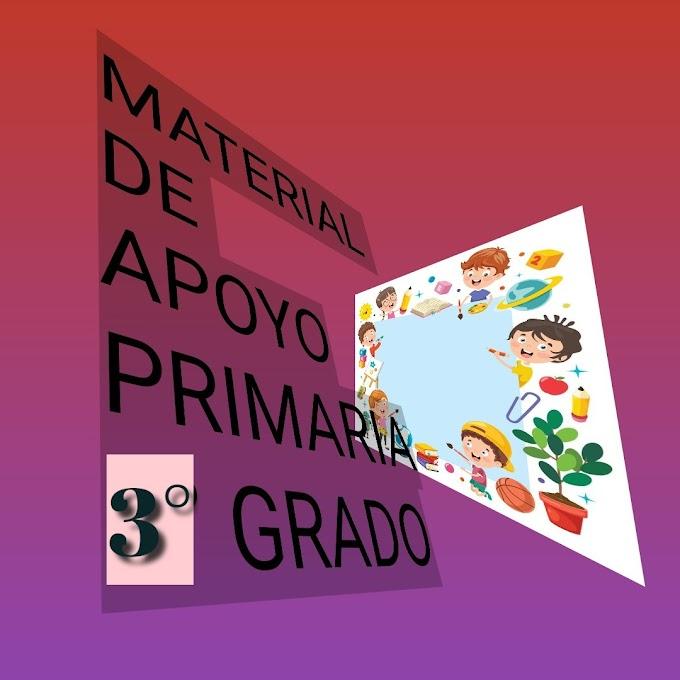Material de Apoyo (Marzo-Abril) 3° Primaria