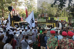 Giliran Sukabumi, Ribuan Massa Gabungan dari Ormas Se-Kabupaten Sukabumi Tolak RUU HIP