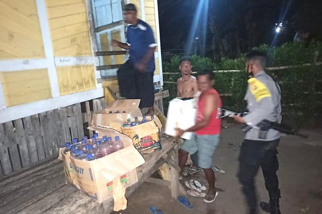 Patroli Cipkon, Polsek Pekat amankan ratusan botol miras oplosan
