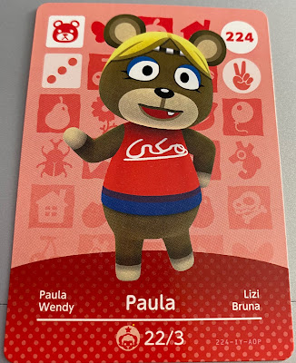 Animal Crossing Amiibo - Paula