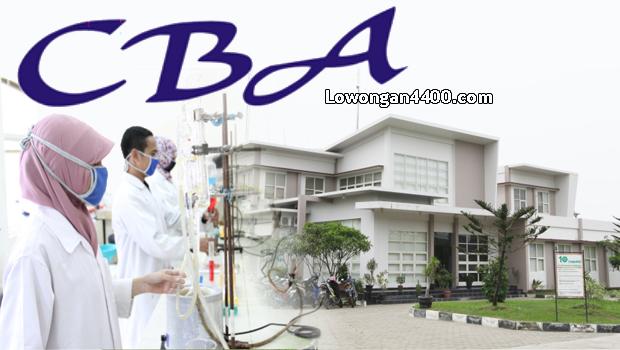 Lowongan Kerja PT. CBA Chemical Industry