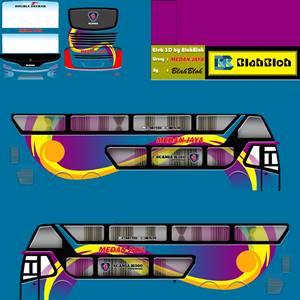Livery Bussid Sumatera Medan Jaya Bimasena SDD