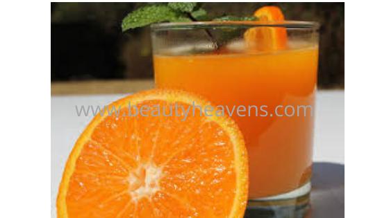 Orange juice belly fat