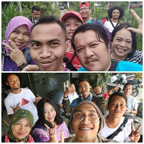 Jogja International Heritage Walk 2018, Sebagai Bloger dan GenPI