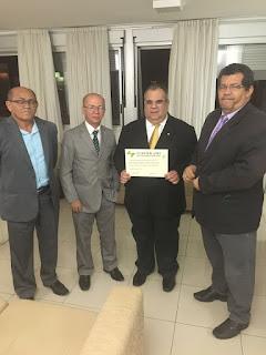 Rômulo Gouveia é homenageado pela Federação Nacional dos Comunicadores