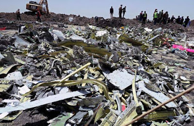 737 MAX aircraft crashed in Ethiopia (March 2019)