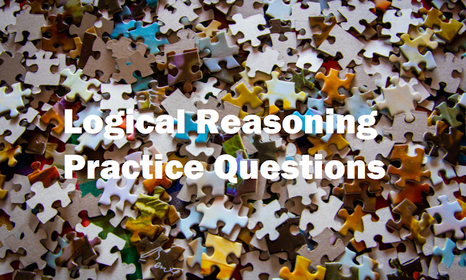 Logical Reasoning Practice Questions