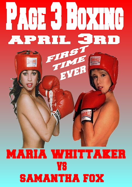 Maria whittaker topless boxing